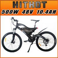 bicycle fork shocks - In Stock Addmotor HITHOT Mountain Bike H2 Sport Black Fork Suspension Spring Shock Absorber V W AH quot Electric Bicycle