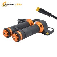 Wholesale Passion Ebike Waterproof Interface V V V Electric Bicycle Throttle Speed Throttle Twist Speed Throttle Sondors eBike Parts