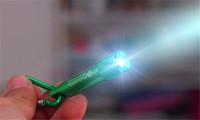 Wholesale Mini LED Flashlight Keychain Aluminum Alloy with Carabiner Ring Keyrings LED mini Flashlight Minilight in stock