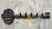 baby wall hooks - FBH040446 Wall decor Old keys Iron decorative wrought iron wall hooks key retro baby