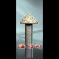 LOXA Entalhe Marble Vacuum soldadas ferramenta de diamante, 20pcs / lot granito Cortadores de fresagem, Entalhe 3D Relief CNC bit ferramentas de gravação de pedra