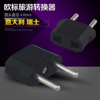 Wholesale Universal US To EU Plug USA To Euro Europe Travel Wall AC Power Charger Outlet Adapter Converter