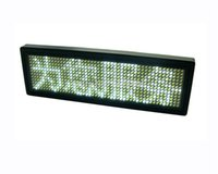 Wholesale New White Programmable Message moving scrolling LED Name Badge Tag Sign Display x48 dot