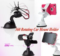 Cheap High Quality ABS Car Holder Best with Retail Package Black/White Car Mount Holder