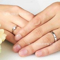 Wholesale 2015 Cheap Romatic Hot Cheap Sterling Silver Rings CT HALO DIAMOND ENGAGEMENT RING WEDDING BAND SET G H EGL USA K lovers rings