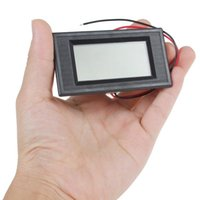 Wholesale New arrive product hot sale DC V Two Wire System Blue Backlight LCD Display smart Digital Voltmeter EGS_142