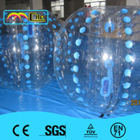 Cheap Amazing 1.5m inflatable human hamster ball,inflatable bumper ball,bubble football,bubble soccer Free shipping