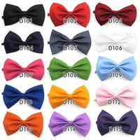 Wholesale 2014 High Quality New style Fashion Man and Women Bow Ties Neckwear children bowties Wedding Bow Tie