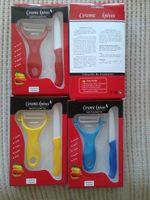 Wholesale kitchen appliances Knife Sets quot inch ceramic Peeler colors Paring Fruit Utility Kitchen ceramic Knife A472L