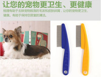 bear tooth - W S TANG Teddy dogs than bear samoyeds puppy tight comb teeth except the fleas small dogs cats and dogs a comb Pet supplies