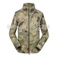 Wholesale Commander Mens Soft Shell Waterproof Jacket Outdoor Hunting climbing Coat Windproof Thermal Sports Outerwear