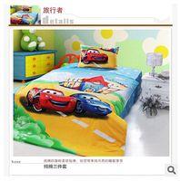 Cheap Designer Bedding Brand Bedding Set Organic Cotton Cartoon Toy Car Boys Teen Conforter Set Anime Bed Sheets Bedding Set TOP743