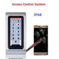 Wholesale Door Access Control Controller Waterproof IP68 Metal Case RFID Reader Keypad