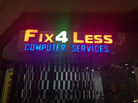 advertise fashion - Fashion New Customized Acrylic LED Letters Business Signs D Channel Letters Front Lit Light Signaboard Advertising