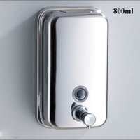 Wholesale Z ml High quality Bathroom Accessories Stainless Steel washroom liquid Soap dispenser wall mounted bathroom sets