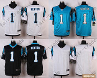 baby outlets - factory outlet carolina pants cam newton men womens kids baby blank white blue black with super bowl patch jerseys