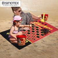 games for beach - 100 Pure Cotton Kids Beach Towel For Children x150cm Isinotex Leisure Game Reactive Printed Pool Towels Woven Plaid
