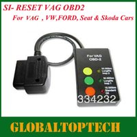 Wholesale SI Reset VAG OBD2 airbag reset tool Auto OBDII Airbag Reset Scanner For VAG with
