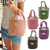 Wholesale Waterproof Thermal Cooler Insulated Lunch Box Carry Bag lunch bag Sweet Tote Picnic Pouch Colors Good High CA05267
