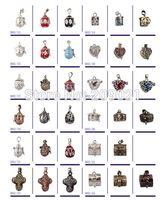prayer box charm - Charms Mixed Style Prayer Wish Craft Photo Frame Locket Box Fit Necklace Pendant