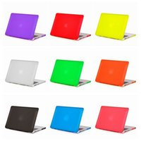 Wholesale New arrived Rubberized Matte Transparent Rubberized Case For hard Macbook Mac Book All Models inch Protective Shell no logo