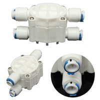 auto filtration - RO Reverse Osmosis Water Filter PSI System Port Way Auto Shut Off Valve order lt no track