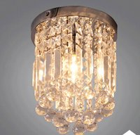 chandeliers - modern fashion Small Crystal Chandelier Lustre Light asile ceiling crystal chandelier lamp with Top K9 Crystal D20H25 DY