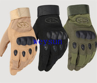 Wholesale DHL Freeshipping NEW For military tactical gloves Cycling Motorcycle Gloves outdoor racing High Qualit bike full gel gloves