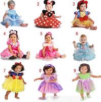 belle wear - Kids Girls Dresses Dance Wear Dress Minnie Lace Dress Halloween Princess Dress Belle Snow White Cinderella Girl Costume Princess Dresses
