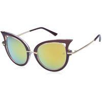 yellow frame sunglasses - 2015 New Metal Frame Dita Sexy Cat Eye Sunglasses for Women Coating Brand vintage sun glasses female oculos de grau femininos