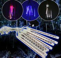 Wholesale Hot Sales cm Length US EU Model Meteor Shower LED Lighting Lamp Strips Home Decor Decorative Christmas Tree CX377
