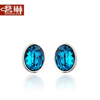 ao earring - Ming Lin Ao geographical elements crystal earrings crystal happiness Korea Korean jewelry