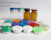 antibiotic - DHL MLClear Antibiotic Glass Bottle Flip Off Cap CC Amber Serum Medicine Injection Sample Vial