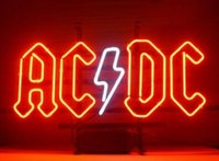 ac dc games - AC DC Pinball Neon Sign Custom Handcrafted Real Glass Tube Neon Sport Game Room Display Advertising Sign quot X14 quot