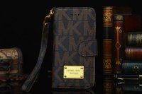 Wholesale Fashion Leather wallet case for iPhone s C s Plus phone bag For Samsung S5 S7 S6 EdgePlus N3