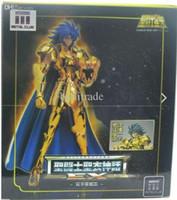 armor models - metal club saint seiya Gemini Saga Myth Cloth Gold Ex action figure OCE model toy metal armor with kanon face and hair