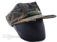 bdu patrol caps - USMC BDU Digital Camo Woodland Cadet Patrol Hat Cap