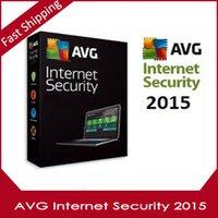 Wholesale AVG Internet Security Years users antivirus Software multi language Activation code Full Version