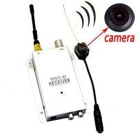 Wholesale llfa483 mini wireless Micro Hidden Spy Camera Nanny Camcorder Pinhole System NEW