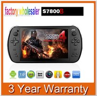 games video games - Hot sell Stock Android JXD S7800B game console RK3188 Quad core GB RAM GB ROM inch IPS video games
