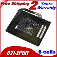 asus mobile dock - Super original C21 EP101 Laptop Battery For Asus Eee Pad Transformer TF101 TR101 TF101 Mobile Docking