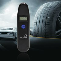 Wholesale New Digital LCD Auto Motocycle Tyre Pressure Gauge Car Maintenance