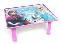 Wholesale 5pcs new Children Tables froze Cartoon learning tables Baby small dining table Blue pink DHL
