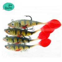 Wholesale Goture Silicone Soft Bait Bonic Fishing Lure g cm Wobblers Artificial Bait Red Tail Lead Fish