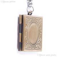amazing photo frames - Amazing Photo Frame Book Bronze Pendant Locket Necklace Jewellery Gift free shopping