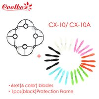 Wholesale Cheerson CX CX10 Spare Parts Protection Frame Blades for CX RC Quadcopter Helicopter color