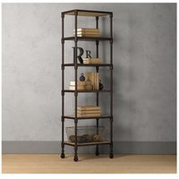 artwork displays - Household wood to do the old wrought iron artwork display caf multilayer display stand manufacturers