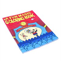 big easy books - Fun Magic Coloring Book Easy and Colorful big one magic trick Children s toy magic props