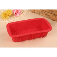 Wholesale inch Silicone Bread Maker BakeBear Toast Bread Loaf Pan Strengthening Border with Bottom Waves Cake Baking Mold