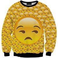 Explosão modelos exportados para a Europa 3D impressão digital, por grosso ea retalho emoji expressão Ms. hedging suéter Sws0390